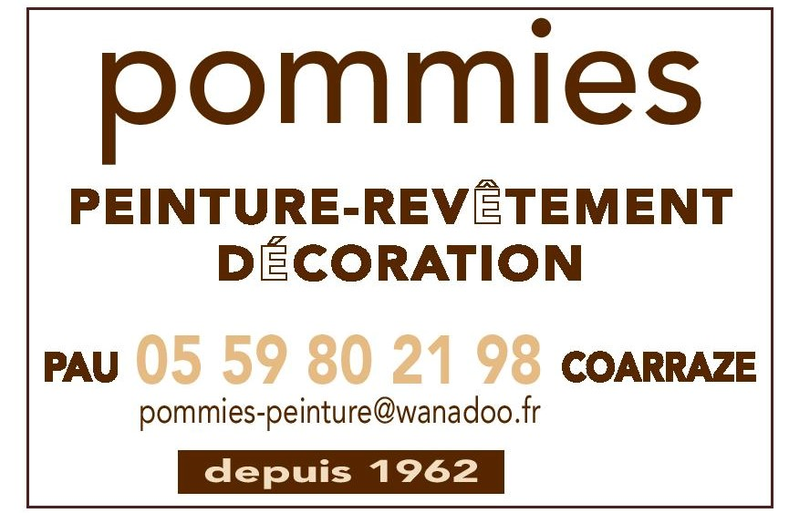 POMMIES PEINTURE
