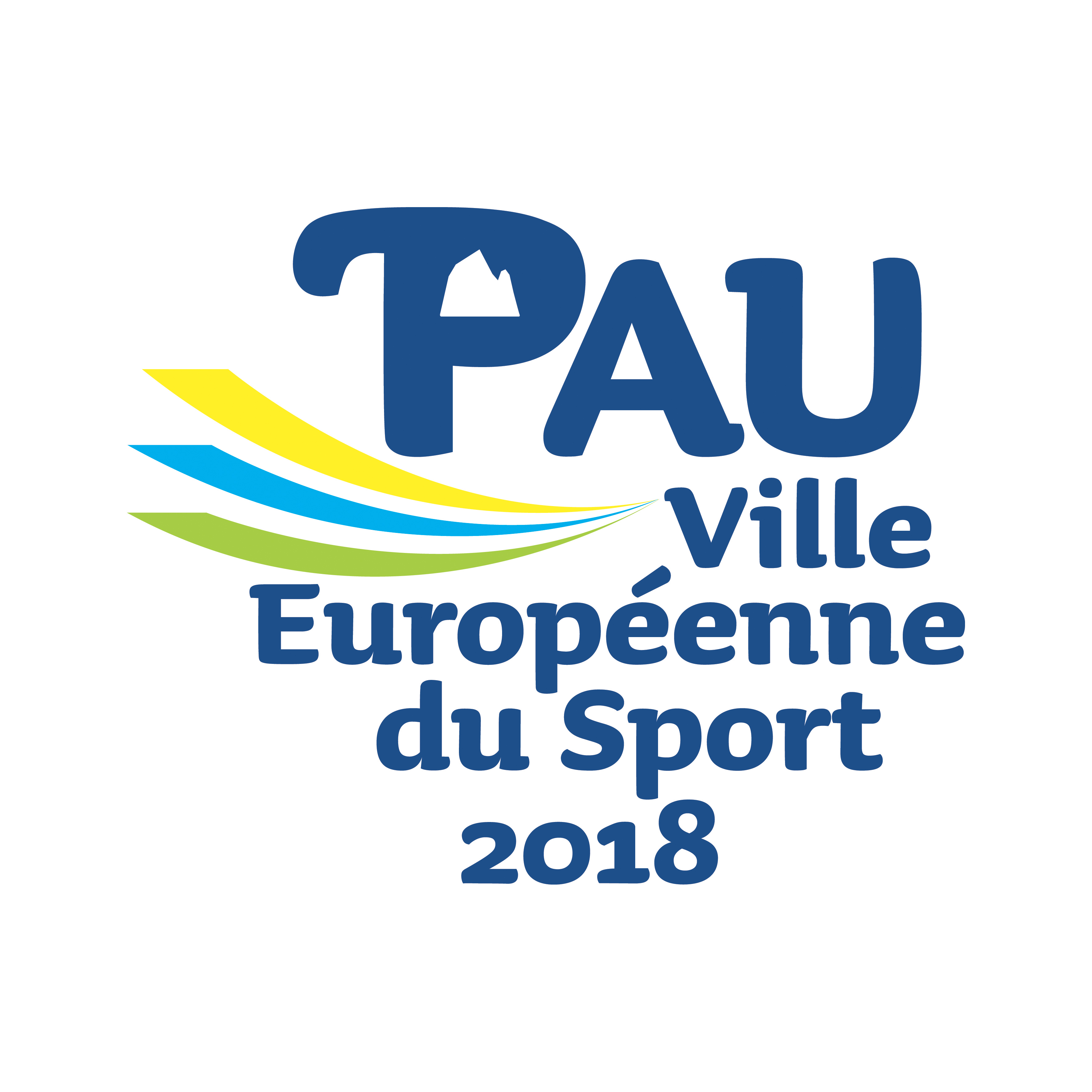 PAU VILLE EUROPEENNE DU SPORT 2018 RVB