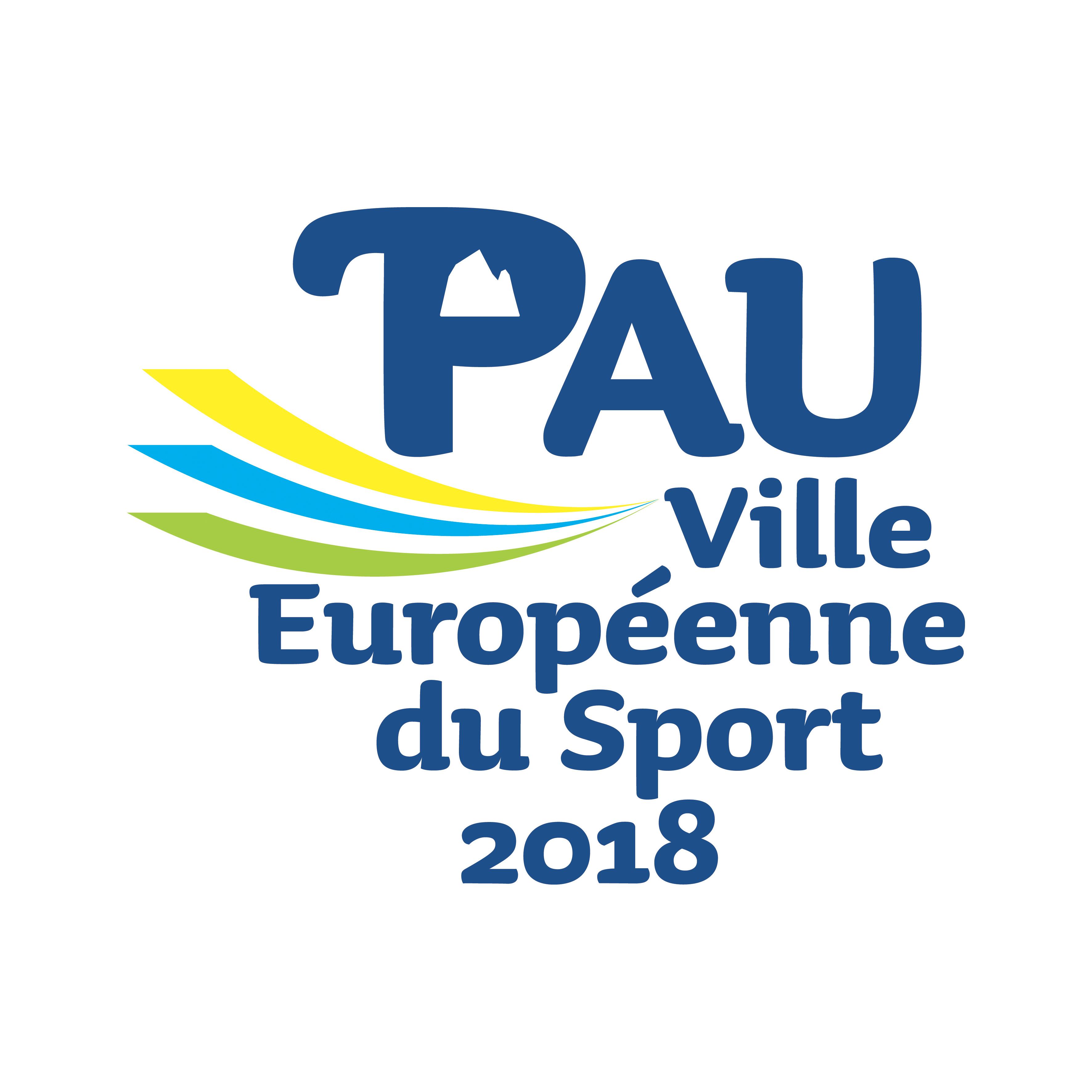 PAU VILLE EUROPEENNE DU SPORT 2018 RVB