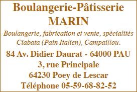 MARIN Boulangerie-Pâtisserie